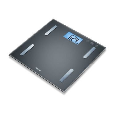 Diagnostic bathroom scales