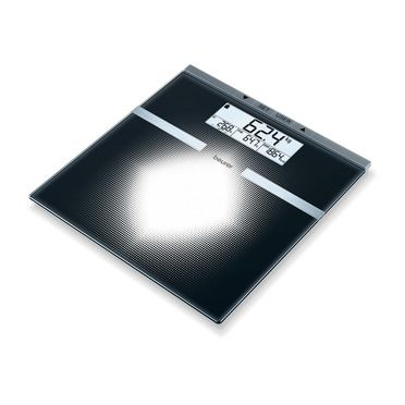 Diagnostic bathroom scales | Glass bathroom scales